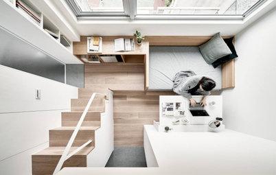 Объясняем: Почему дизайнер сделал этот диван на лестнице
