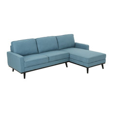 50 Most Popular Blue Sectional Sofas For 2019 Houzz