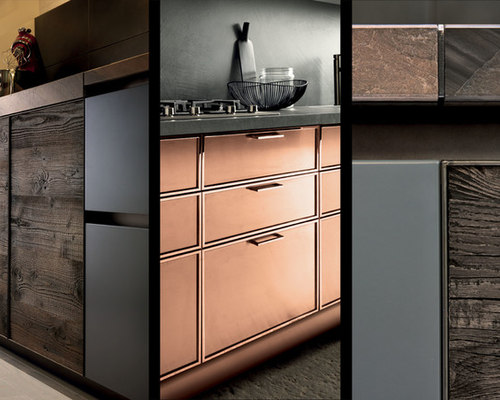 copper kitchen cabinets - Kitchen Cabinetry & copper kitchen cabinets