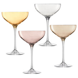 Contemporary Wine Glasses by Red Candy Ltd