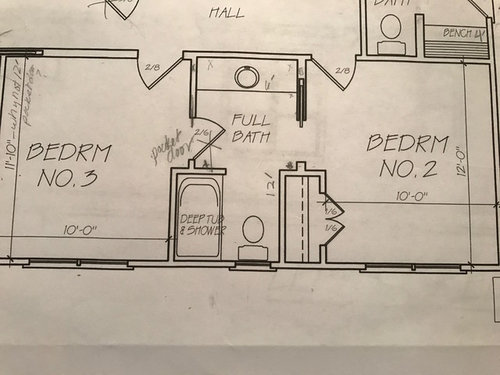 Advice please 1 or 2 sinks in this guest jack and jill - Jack and jill sinks ...