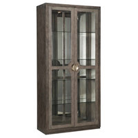 "Hooker Furniture 638-50436 Carissa 44"" Wide 4 Shelf Display Cabinet from the Me"