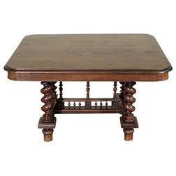Cute Traditional Dining Tables Antique Oak French Jacobean Dining Table