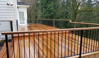 Western Red Cedar Deck