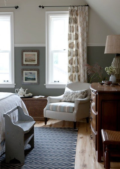 Split Your Colors With Two-Toned Walls