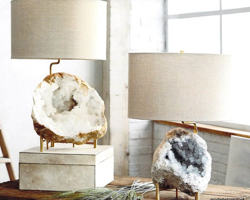 Roost Mineral Stand Lamp   Table Lamps