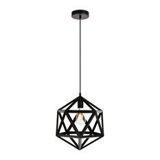 Redmond Collection Pendant 13.0'' H14.6 1-Light Black