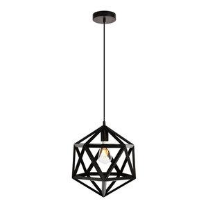 Elegant Living District Redmond Collection Pendant, Black