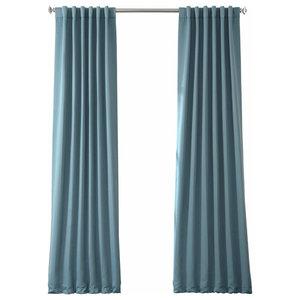 Aubergine Blackout Curtain Set Of 2