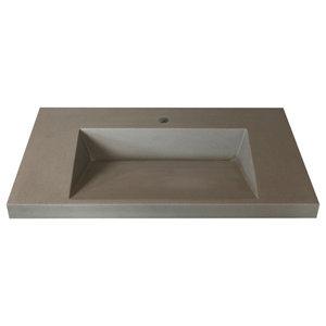Sophia Bowl Vessel 31 Bathroom Vanity Top Modern Bathroom Sinks By Marble Lite Industries Inc Houzz