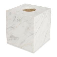 Marmol Italian Marble Tissue Holder