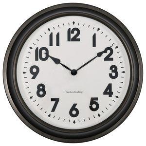 Broadway Garden Wall Clock, Small