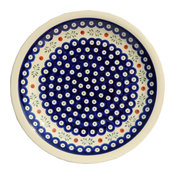 Polish Pottery Dinner Plate, Pattern Number: 242