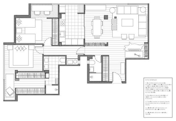 Casas Houzz: El hogar chic en planta 10 de un treintañero