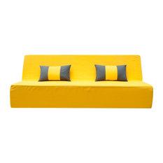 Lowboy Yellow Sofa