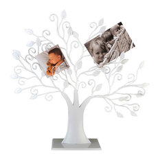 EMDE Tree Photo Display Stand, White