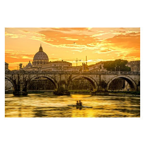 "Pixtury ""La Grande Bellezza"" Photo Print, Canvas, 40x60 cm"