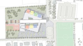 Concorso di Idee per la progettazione di un polo scolastico - Cairate (VA)