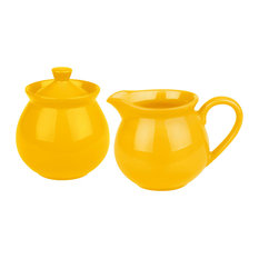 Creamer and Sugar Set Fun Factory Buttercup