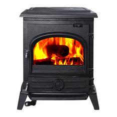 HiFlame Pony HF517U Cast Iron 37,000BTU/h Wood Burning Stove
