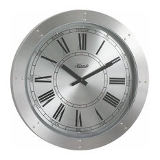 Crescent Gallery Wall Clock