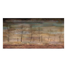 """The Woods"" Fine Art Canvas Print, 45""x22.5"""