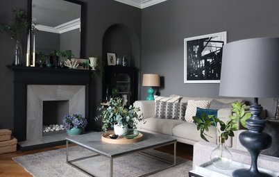 My Room: Clever DIY Hacks Were Key to Creating a Chic Living Room