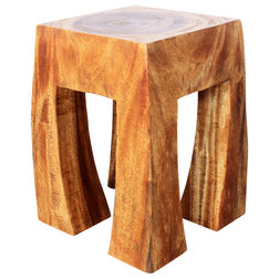 Rustic Accent And Garden Stools by Haussmann Inc.