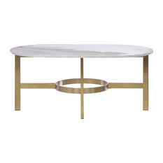 brass coffee tables | houzz