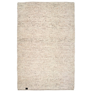 Classic Collection Merino Area Rug, Natural Beige, 200x140 cm