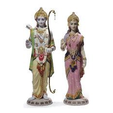 Lladro Rama and Sita Figurine