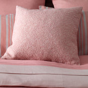 Laundered Cushion Cover Pink