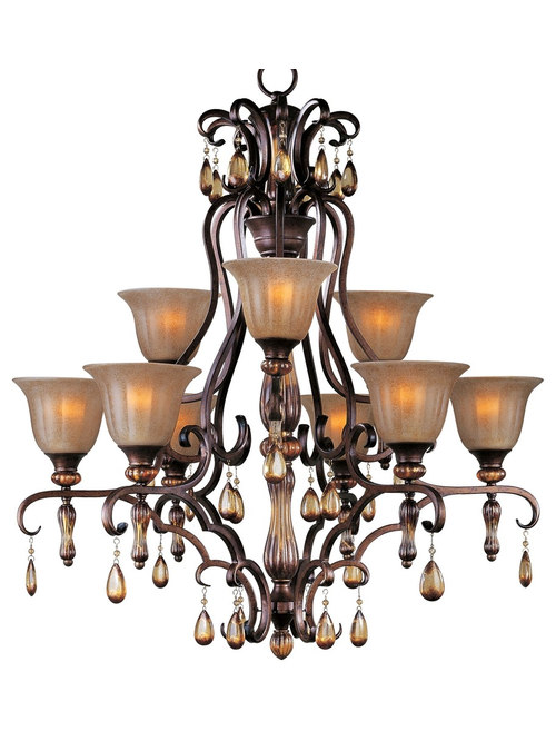 Maxim dresden old world chandelier sconce collection maxim dresden old world 2 tier 9 light chandelier chandeliers aloadofball Choice Image