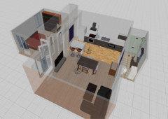 Amenagement Demarcation Cuisine Salon 30m2