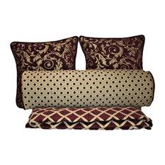 Bedroom Pillow Set With Blanket