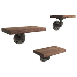 Industrial Display And Wall Shelves  by arc + timber