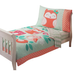 Beautiful Contemporary Toddler Bedding by oBedding