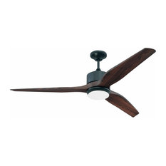 "craftmade.com - Craftmade MOB60 Mobi 60"" 3-Blade Indoor/Outdoor Ceiling Fan, Oiled Bronze - Ceiling Fans"