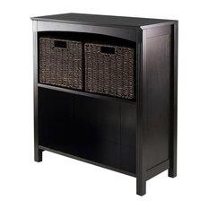 Winsome 3 Piece Storage 3-Tier Shelf