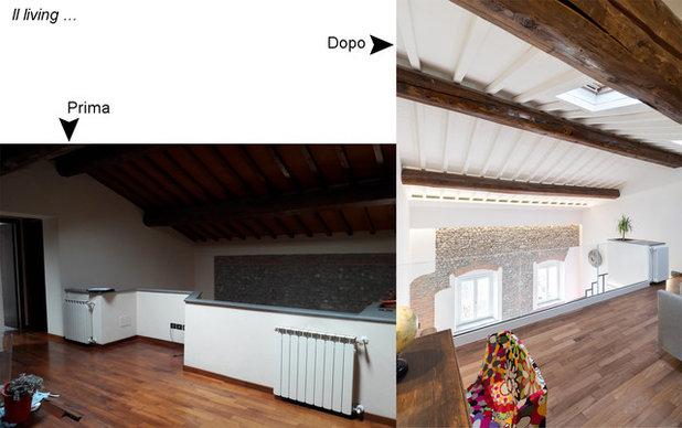 A Colori VS Bianco: due ristrutturazioni di rustici a confronto