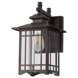 Craftsman Outdoor Wall Lights And Sconces by Houzz