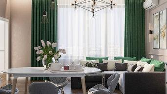 Дизайн-проект четырехкомнатной квартиры, 83.3 кв.м