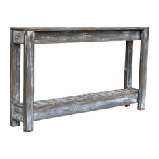 46-inch Weathered Gray Console