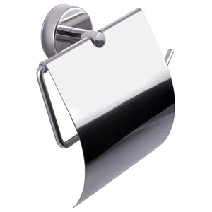 Kapitan Stainless Steel Toilet Roll Holder With Cover