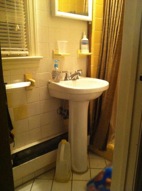 Renovation Of Very Small Bathroom