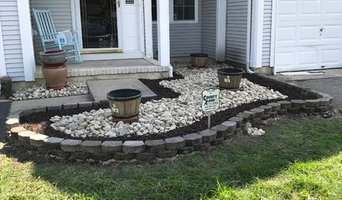Mulch stone and Retaining Wall on  Galloping Hill Lane Toms River