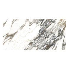 "Macchia Vecchia Marble Look Porcelain Tile Premium Polished, 24""x48"""