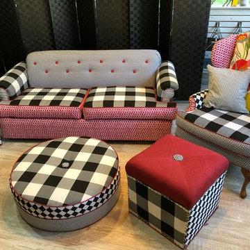 MacKenzie Childs Upholstery