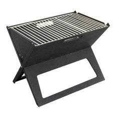 Fire Sense - Hotspot Notebook Charcoal BBQ Grill - Outdoor Grills