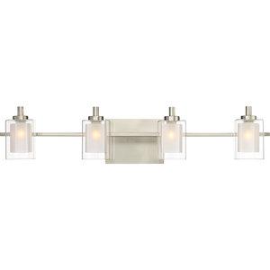 Quoizel Kolt Bath Light, Brushed Nickel